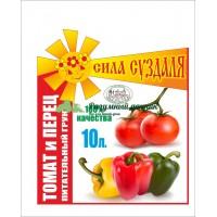Питательный грунт для рассады «Сила Суздаля» томат и перец 10л