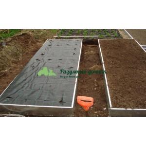 Оцинкованные грядки (длина 1-12 метров, ширина 1 м. высота 20 см, толщина 0.6 мм)