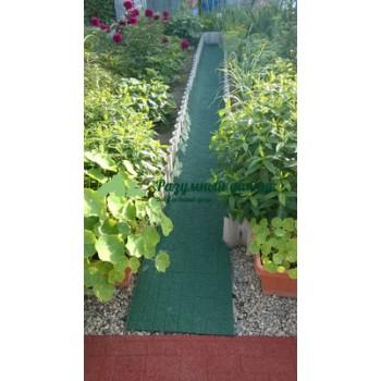 Купить резиновые дорожки для дачи, сада и огорода