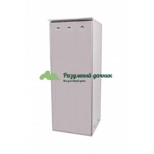 Шкаф для газового баллона на 50 литров, серый